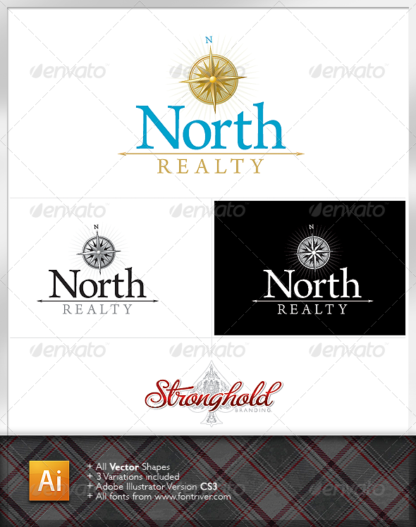 Real Estate North Logo