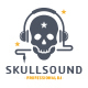 Skull Sound Logo Template