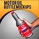 Motor Oil Bottle Mockups