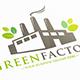 Eco Factory Logo Template