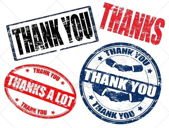 GraphicRiver thank you stamps 1365596