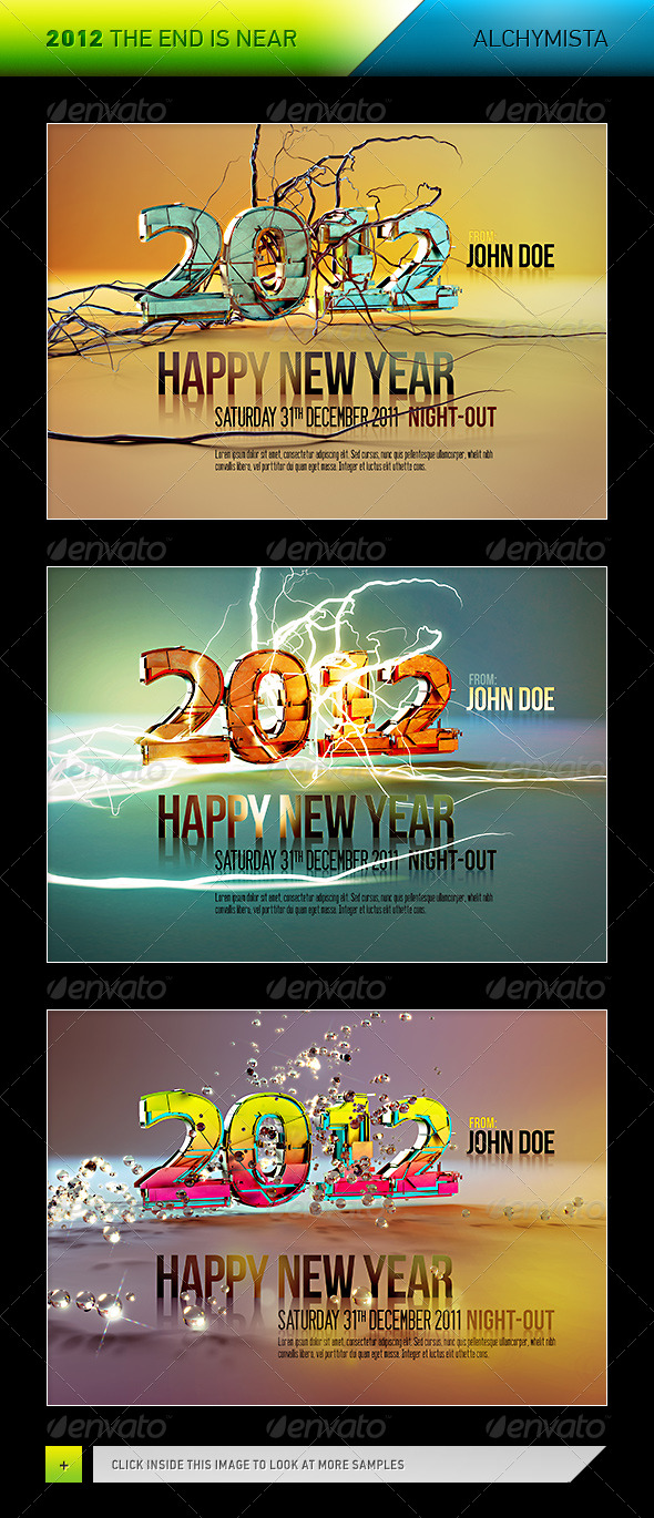2012 - The End Is Near - Miscellaneous 3D Renders