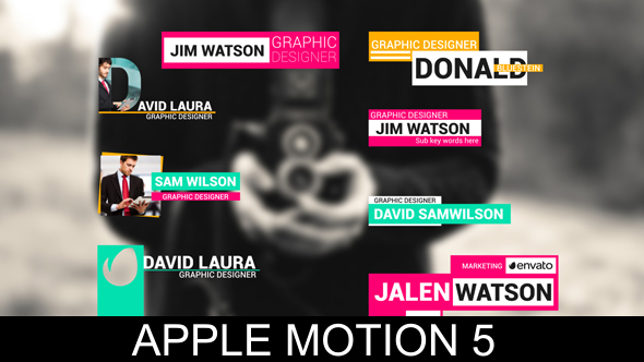 Apple Motion DIY Templates- Page 1