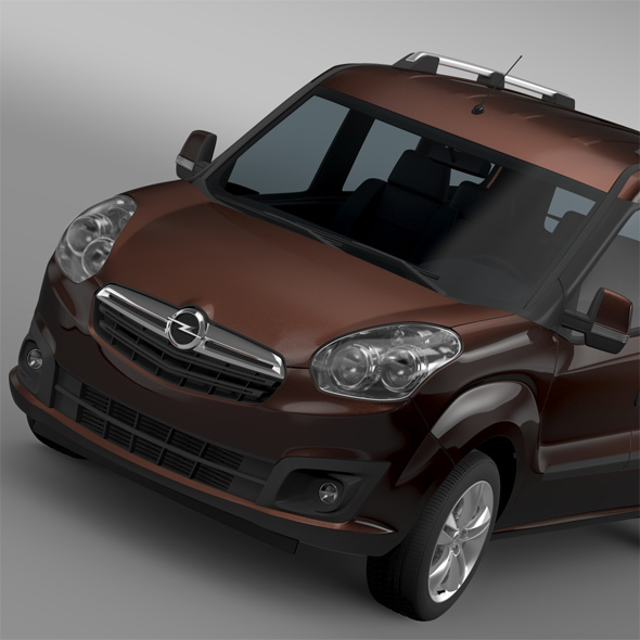 Opel Combo Tour LWB (D) 2015 - 3DOcean Item for Sale