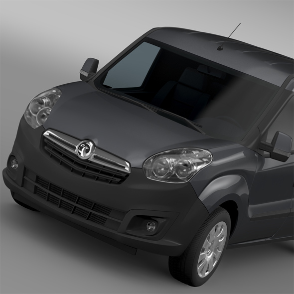 Vauxhall Combo H1L2 Cargo 2015 - 3DOcean Item for Sale