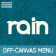 Rain - Responsive Off-Canvas Menu - CodeCanyon Item for Sale