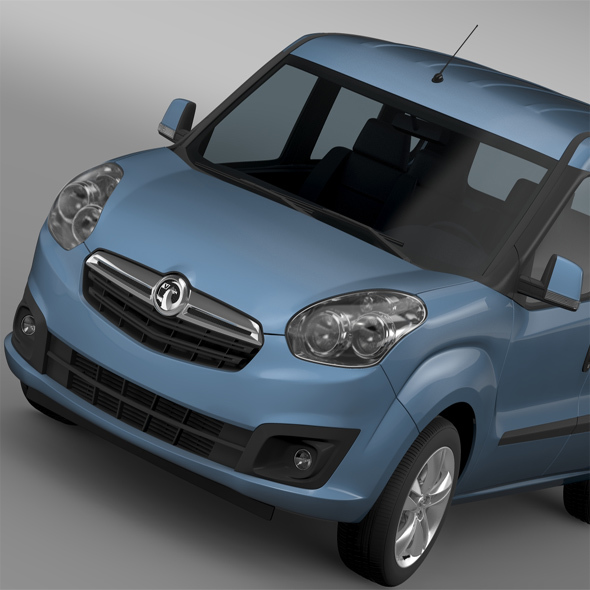 Vauxhall Combo Tour ecoFLEX H1L1 2015 - 3DOcean Item for Sale