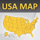 USA layered vector map - GraphicRiver Item for Sale