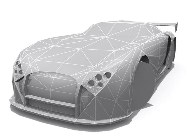 3DOcean TVR Cerbera Speed 12 GT-R Base 1366852