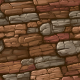Hand Painted Rock Texture 01
