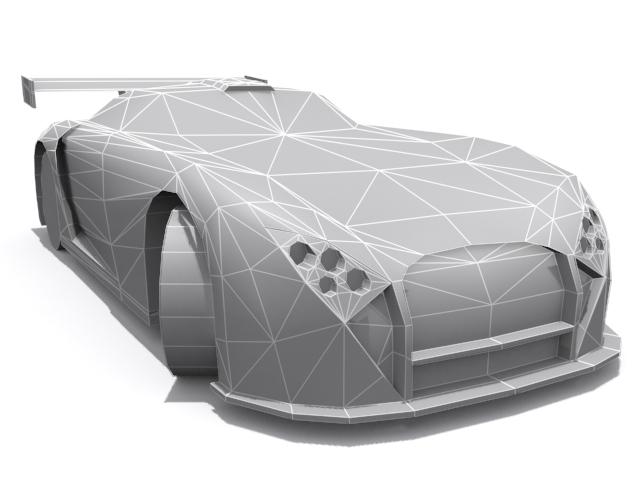 3DOcean TVR Cerbera Speed 12 GT-1 Base 1366873