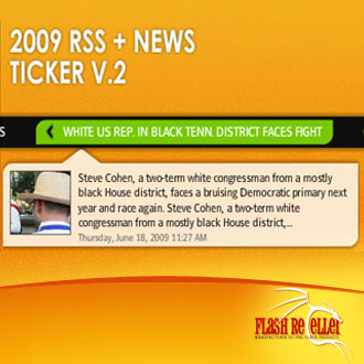2009 RSS News Ticker v.2 - ActiveDen Item for Sale