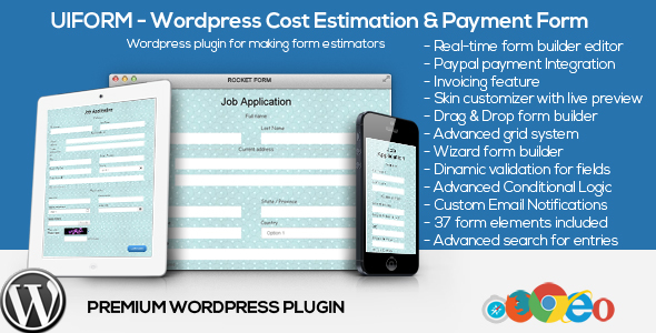 Uiform – WordPress Cost Estimation & Payment Forms