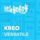 Kreo WP - 5 in 1 WordPress Theme