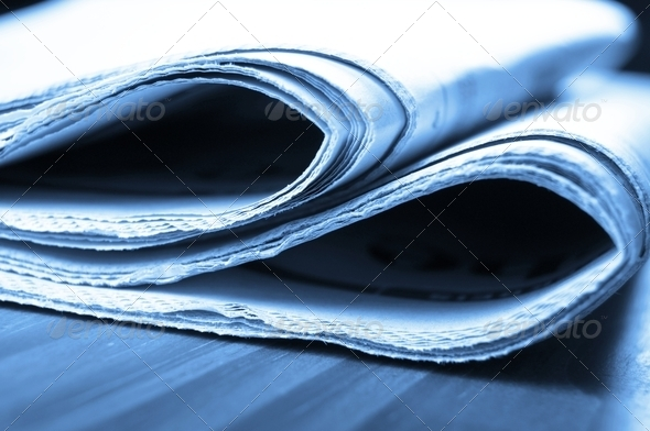 newspaper - Stock Photo - Images