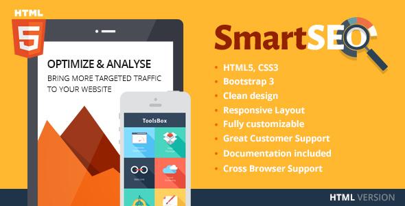SmartSEO | SEO & Marketing HTML Theme