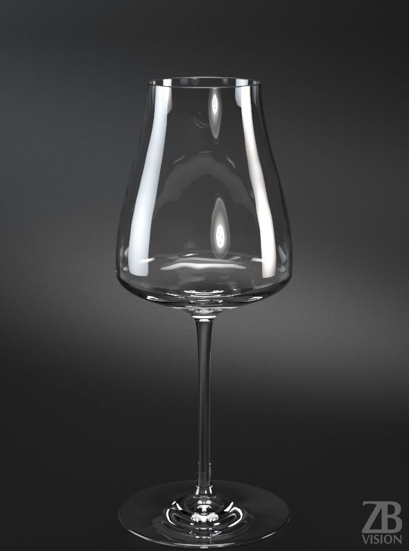 Wine glass - 3DOcean Item for Sale
