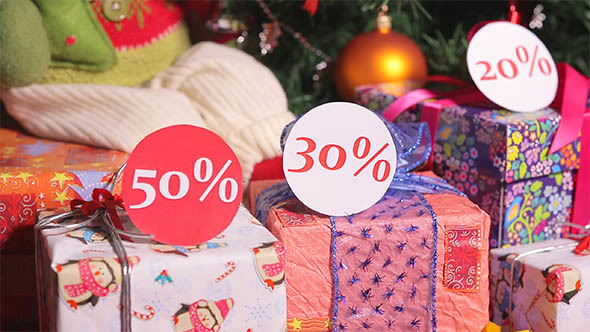 Christmas Sales with Discounts