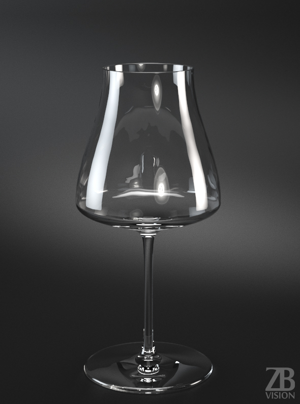 Pinot Noir Red Wine Glass - 3DOcean Item for Sale