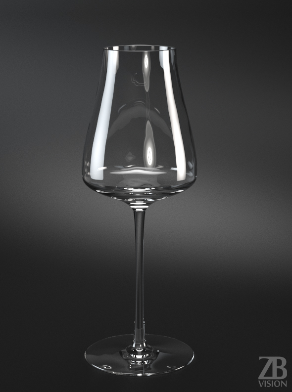 Rioja Red Wine Glass - 3DOcean Item for Sale