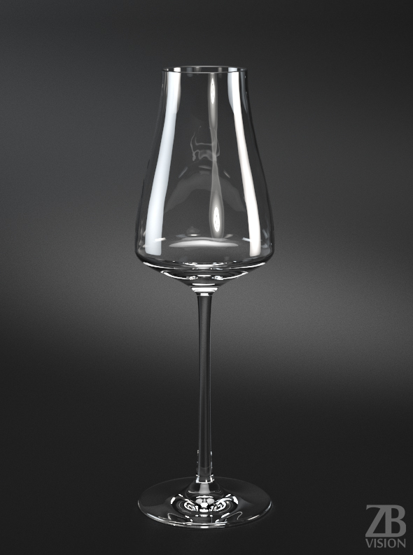 Champagner Glass - 3DOcean Item for Sale