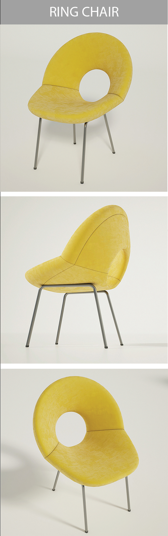 Ring Chair - 3DOcean Item for Sale
