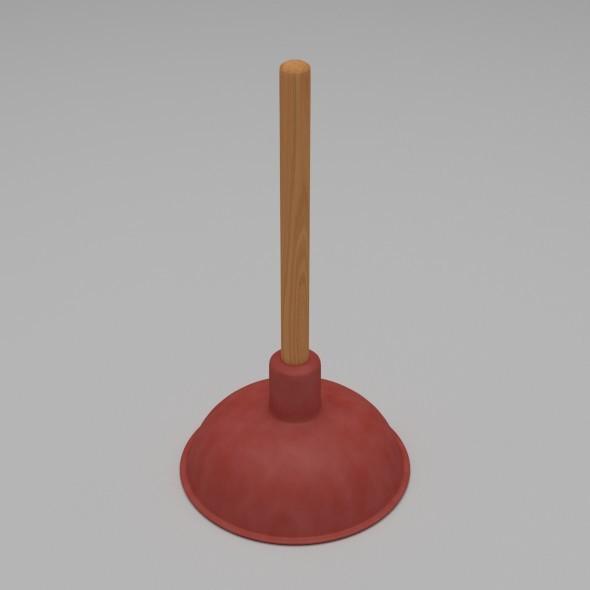 Plunger - 3DOcean Item for Sale