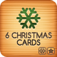 Six Christmas Cards Bundle