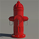 Fire Hydrant - High Poly