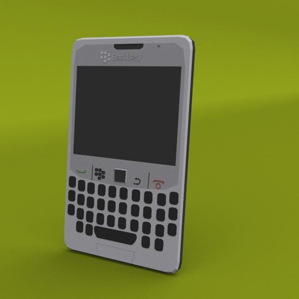BlackBerry curve low poly 3D model - 3DOcean Item for Sale