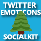 Twitter emoticons for Socialkit