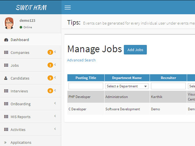 HR Applicant Tracking System (Saas App) by nkm_swot | CodeCanyon