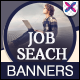 HTML5 Job & Career Banners - GWD - 7 Sizes