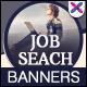 HTML5 Job & Career Banners - GWD - 7 Sizes