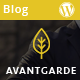 AvantGarde - WordPress Blog Theme