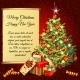 Christmas Tree And Gifts And Scroll For Your Text