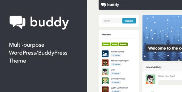 15 Mejores Temas de WordPress BuddyPress para crear una comunidad o web social 11