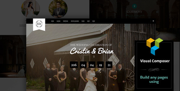 9 - Wedding Emotions - WordPress Theme
