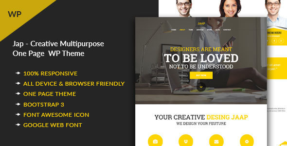 Download Jaap - Creative MultiPurpose WordPress Theme nulled download
