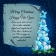 Christmas Tree Balls And Card Parchment For Text