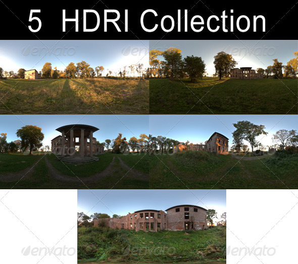 HDRi Pack - Ruin - 3DOcean Item for Sale