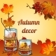 Golden Autumn Collected In a Beautiful Decor