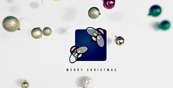Falling Christmas Logo