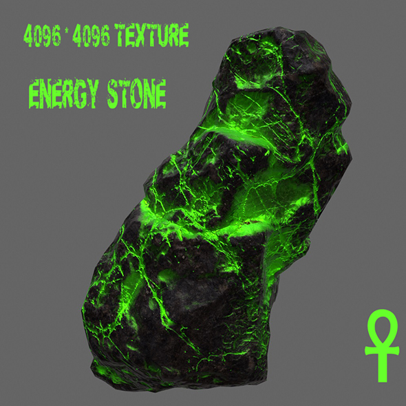 Glowing_Rock - 3DOcean Item for Sale