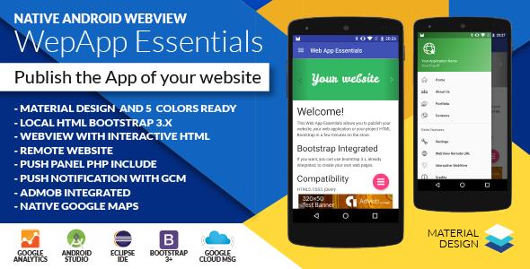 Native Web App Essentials