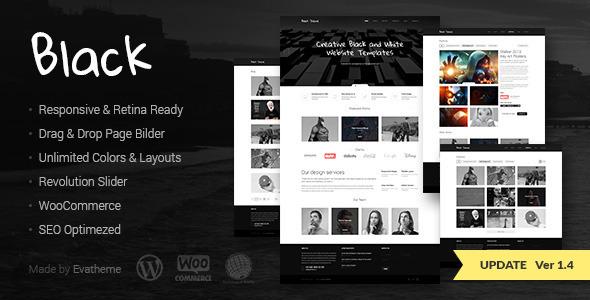 Download Black - Premium Multi-Purpose WordPress Theme nulled download