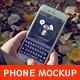 Phone 6 Mockup Weekend Theme v.2
