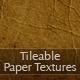 8 Tileable Paper Texture Photoshop Patterns - GraphicRiver Item for Sale