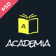 Academia - Educational PSD Template - ThemeForest Item for Sale