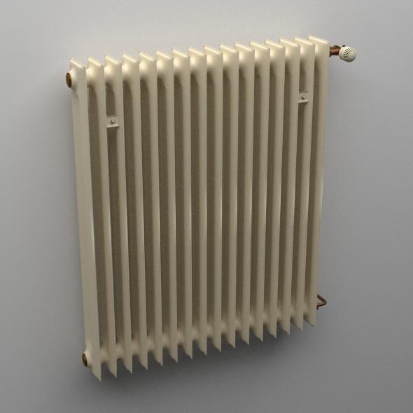 Radiator - 3DOcean Item for Sale